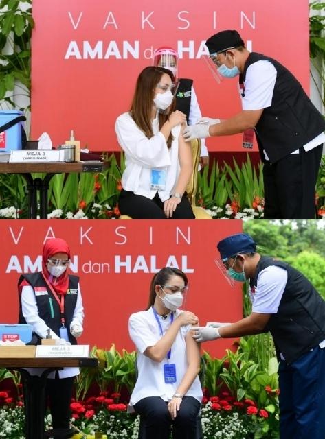 Beruntunglah-3-Pelaku-Pageants-Ini-Menjadi-Orang-Pertama-Yang-Disuntik-Vaksin-Covid-19-Reisa-Broto-Asmoro-Miss-International-Indonesia-2011